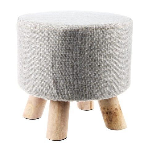 Upholstered Footstool - ixDecor