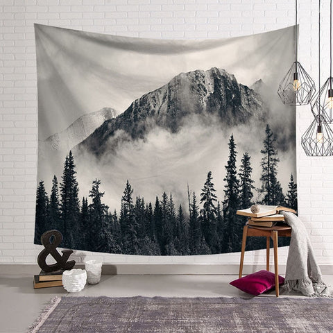 Psychedelic Mountain Tapestry - ixDecor