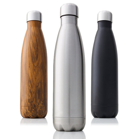 Stainless Steel Water Bottles - ixDecor
