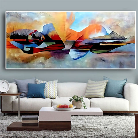 Abstract Oil Painting - ixDecor