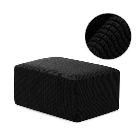 Fabric Square Ottoman - ixDecor