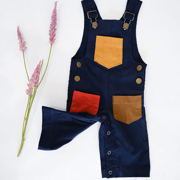 The Megsy Overall - Midnight