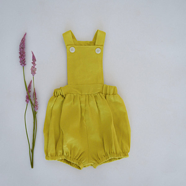 The George Romper - sulphur