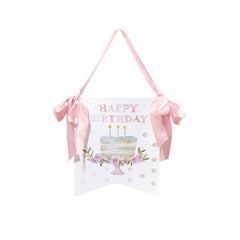 Happy Birthday Cake Door Hanger