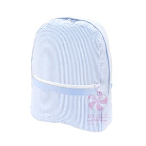 Medium Baby Blue Backpack