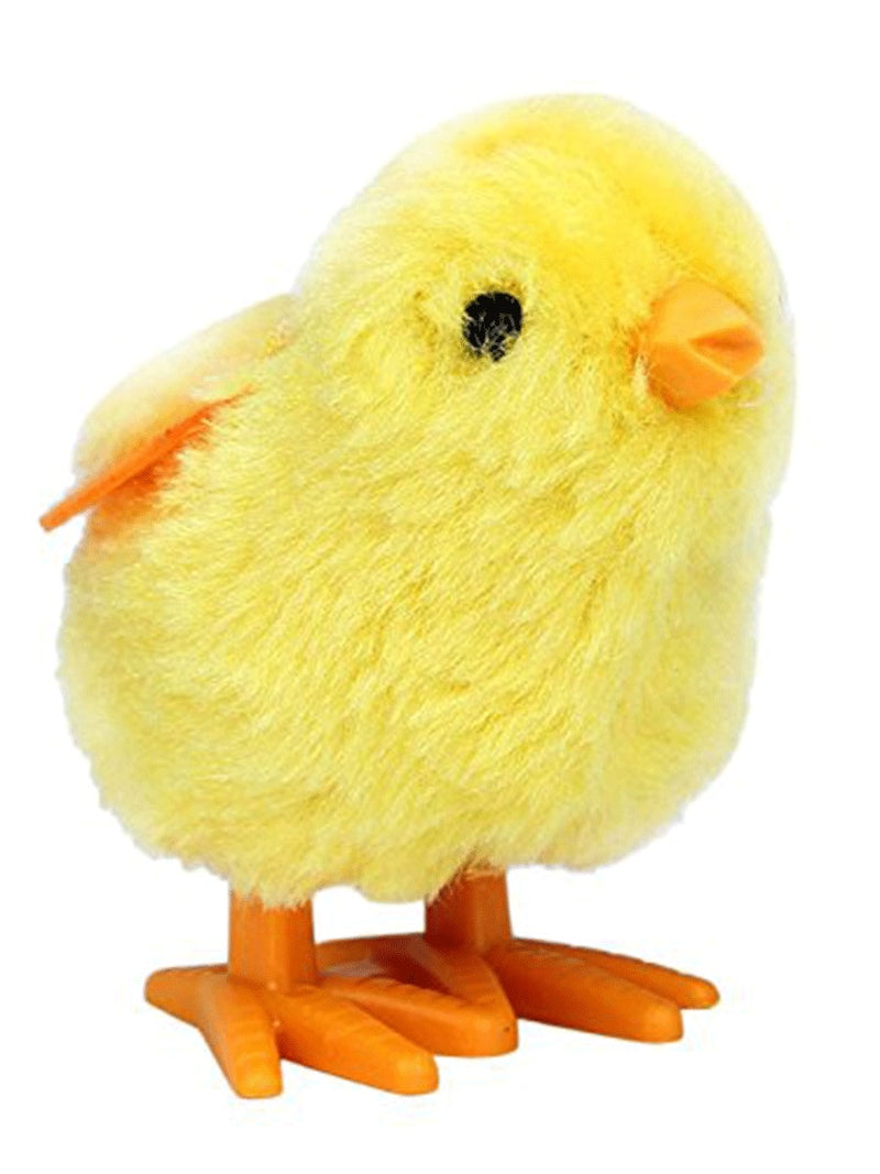 Furry Wind-Up Chick
