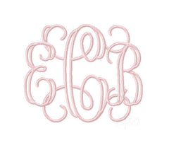 Grace Open Satin Monogram Font
