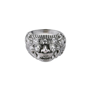 Barong Ring-Ring-Black Buddha Jewelry