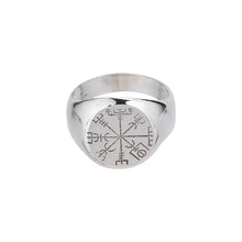Load image into Gallery viewer, Vegvisir Clear Ring-Ring-Black Buddha Jewelry