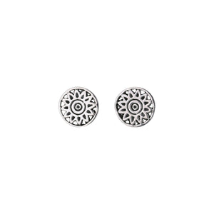 Matahari Ear Studs-Earrings-Black Buddha Jewelry