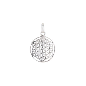 Flower of Life Pendant-Pendant-Black Buddha Jewelry
