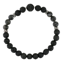 Load image into Gallery viewer, Kubu Mala Bracelet-Bracelet-Black Buddha Jewelry