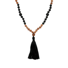 Load image into Gallery viewer, Batur Mala Necklace-Necklace-Black Buddha Jewelry