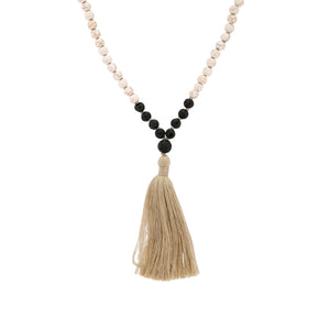 Yin Mala Necklace - Black Buddha Jewelry