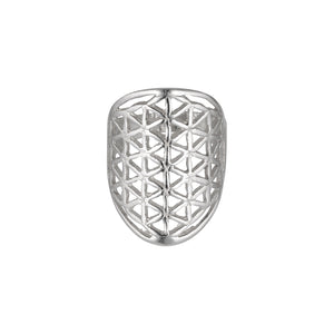 Flower of Life Ring-Ring-Black Buddha Jewelry