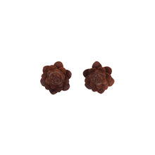 Load image into Gallery viewer, Blóm Faux Plugs-Earrings-Black Buddha Jewelry