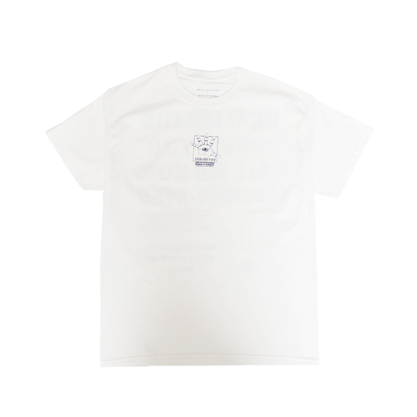 Palm Reader Tee (White)