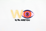 """W(EYE) by Ru AREYOU"" TEE (WHITE)"