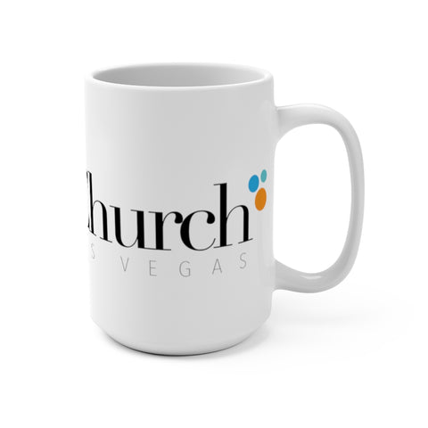 Society Church Mug 15oz Mug- Warrior Design Co. | Quality Affordable Branding Solutions