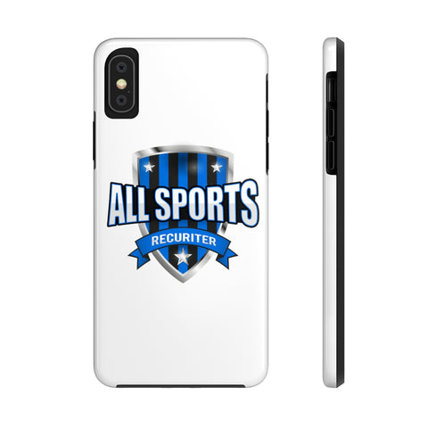 All Sports Recruiter Tough Phone Case Phone Case- Warrior Design Co. | Quality Affordable Branding Solutions