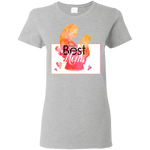 World's Best Mom Women's T-Shirt T-Shirts- Warrior Design Co. | Quality Affordable Branding Solutions