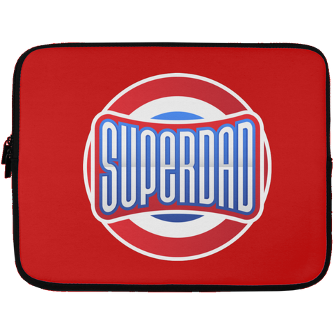 Superdad Laptop Sleeve - 13 inch Laptop Sleeves- Warrior Design Co. | Quality Affordable Branding Solutions