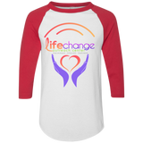 Life Change Outreach Coloblock Jersey T-Shirts- Warrior Design Co. | Quality Affordable Branding Solutions