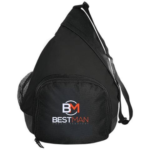 Best Man Active Sling Pack Bags- Warrior Design Co. | Quality Affordable Branding Solutions