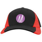 Moore Marketing Icon Colorblock Hat Hats- Warrior Design Co. | Quality Affordable Branding Solutions
