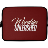 Worship Unleashed Laptop Sleeve - 10 inch Laptop Sleeves- Warrior Design Co. | Quality Affordable Branding Solutions