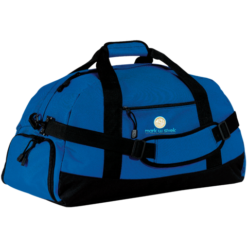 Mark Sivek Large-Sized Duffel Bag Bags- Warrior Design Co. | Quality Affordable Branding Solutions