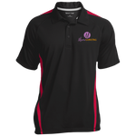 Moore Marketing Colorblock 3-Button Polo Polo Shirts- Warrior Design Co. | Quality Affordable Branding Solutions