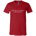 MBAGA Unisex V-Neck T-Shirt T-Shirts- Warrior Design Co. | Quality Affordable Branding Solutions