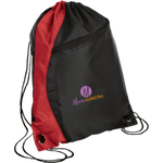 Moore Marketing Colorblock Cinch Pack Bags- Warrior Design Co. | Quality Affordable Branding Solutions