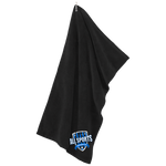 All Sports Recruiter Microfiber Golf Towel Towels- Warrior Design Co. | Quality Affordable Branding Solutions