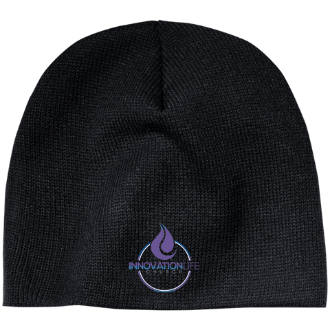 Innovation Life Acrylic Beanie Hats- Warrior Design Co. | Quality Affordable Branding Solutions