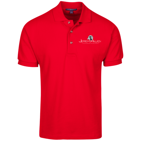 Jeremy Allen Men's Polo Polo Shirts- Warrior Design Co. | Quality Affordable Branding Solutions