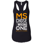 Fight MS Women's Tank T-Shirts- Warrior Design Co. | Quality Affordable Branding Solutions