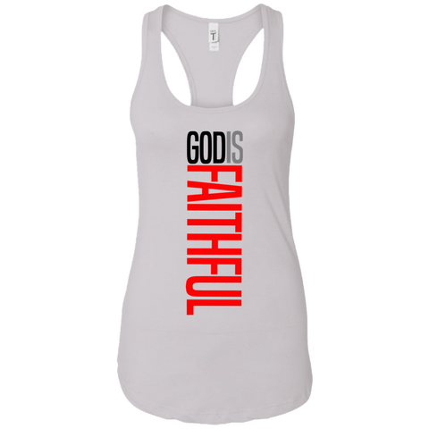God is Faithful Women's Tank T-Shirts- Warrior Design Co. | Quality Affordable Branding Solutions