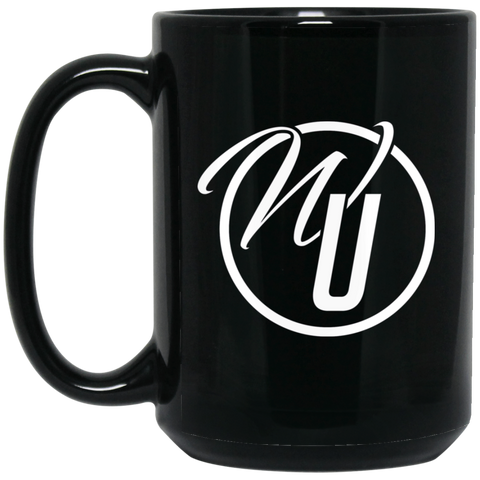 Worship Unleashed 15 oz. Black Mug Drinkware- Warrior Design Co. | Quality Affordable Branding Solutions