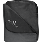 Jeremy Allen Fleece & Poly Travel Blanket Blankets- Warrior Design Co. | Quality Affordable Branding Solutions