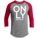 Only Believe Sporty Men's T-Shirt T-Shirts- Warrior Design Co. | Quality Affordable Branding Solutions