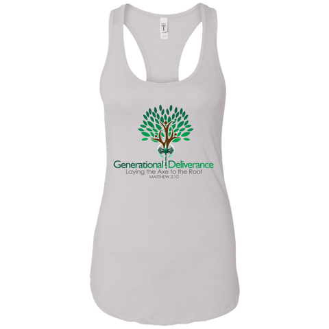Generational Deliverance Women's Tank T-Shirts- Warrior Design Co. | Quality Affordable Branding Solutions