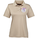 Angels of Las Vegas Women's Performance Polo Polo Shirts- Warrior Design Co. | Quality Affordable Branding Solutions