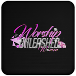 Worship Unleashed Women Coaster Drinkware- Warrior Design Co. | Quality Affordable Branding Solutions