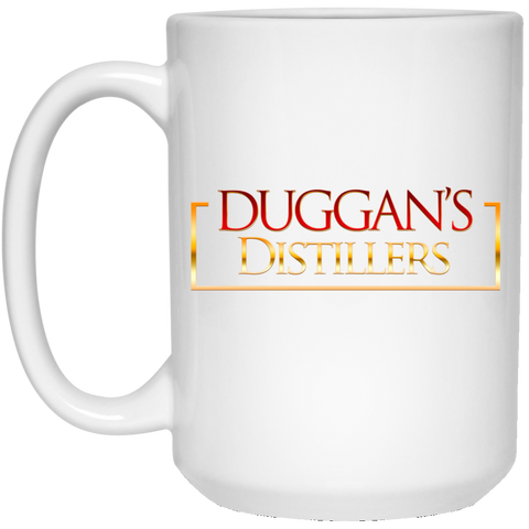 Duggan's Distillers 15 oz. White Mug Drinkware- Warrior Design Co. | Quality Affordable Branding Solutions