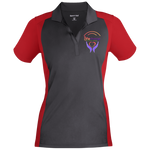 Life Change Outreach Women's Sport-Wick Polo Polo Shirts- Warrior Design Co. | Quality Affordable Branding Solutions