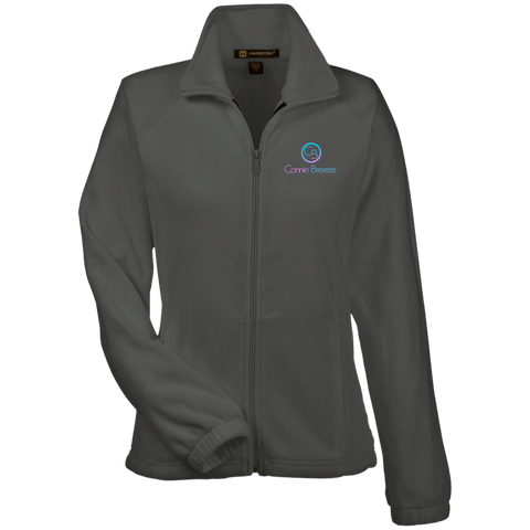 COnnie Breeze Women's Fleece Jacket Jackets- Warrior Design Co. | Quality Affordable Branding Solutions
