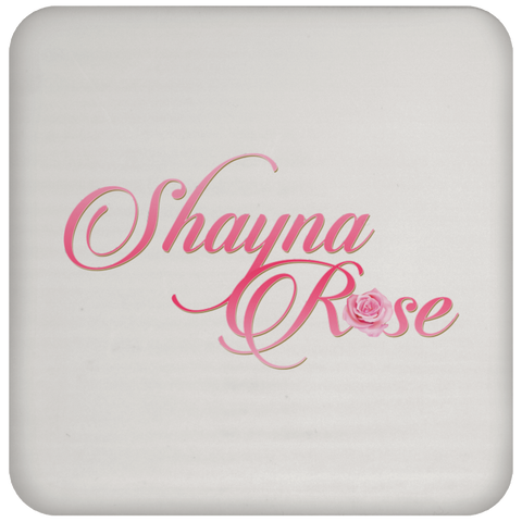 Shayna Rose Coaster Drinkware- Warrior Design Co. | Quality Affordable Branding Solutions