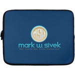 Mark Sivek Laptop Sleeve - 13 inch Laptop Sleeves- Warrior Design Co. | Quality Affordable Branding Solutions